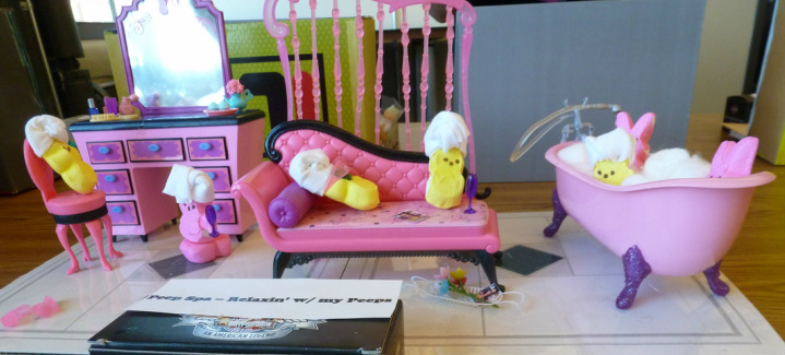 Peeps Spa - Relaxing with my Peeps - Peep Show