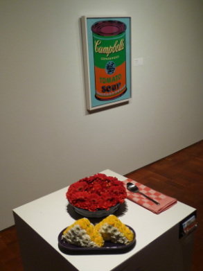 MAM Art in Bloom 2014 - Tulipomania European Flower Market / Campbell's Soup - Andy Warhol