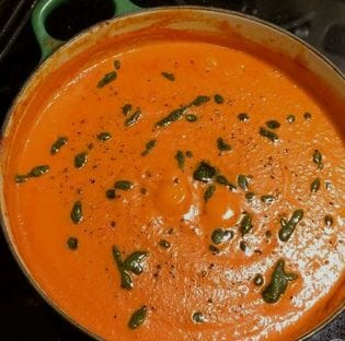 The Food Lab's 15 Minute Pantry Tomato Soup