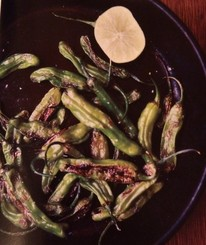 Sauteed Shishito Peppers from Deborah Madison